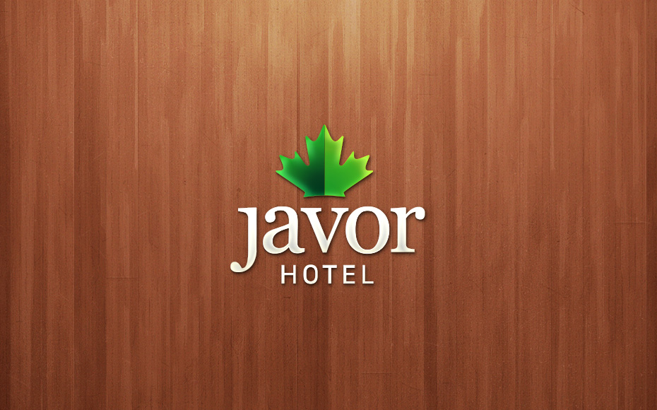 Hotel javor graphic beast for Hotel name design