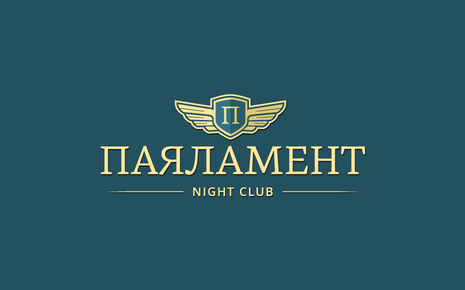 club parlament visual id logo design Club Parlament
